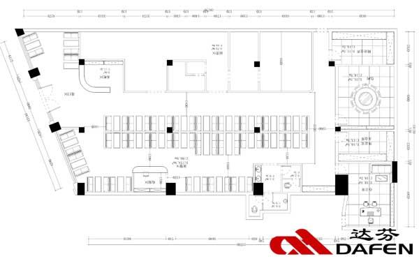 达芬卡座沙发设计定制