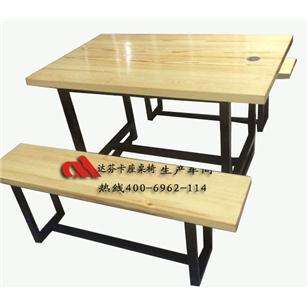 实木大板餐桌椅,实木长